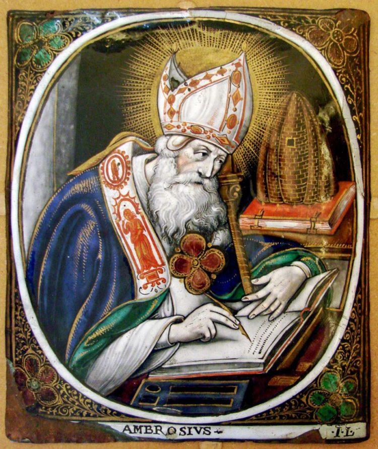 Молитва Амвросия Медиоланского