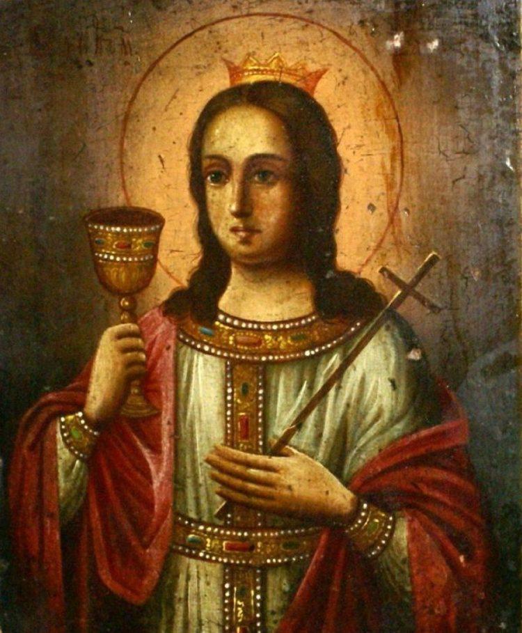Молитва Святой Варваре
