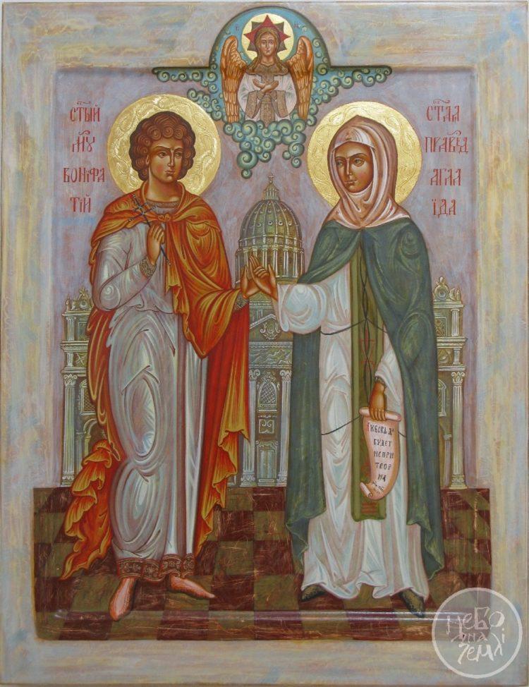 Молитва Святому Вонифатию