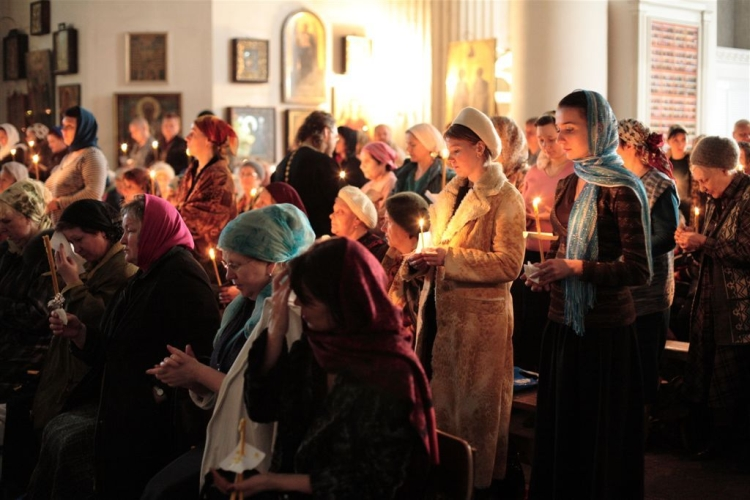 Благодарственные молитвы по причащению читать