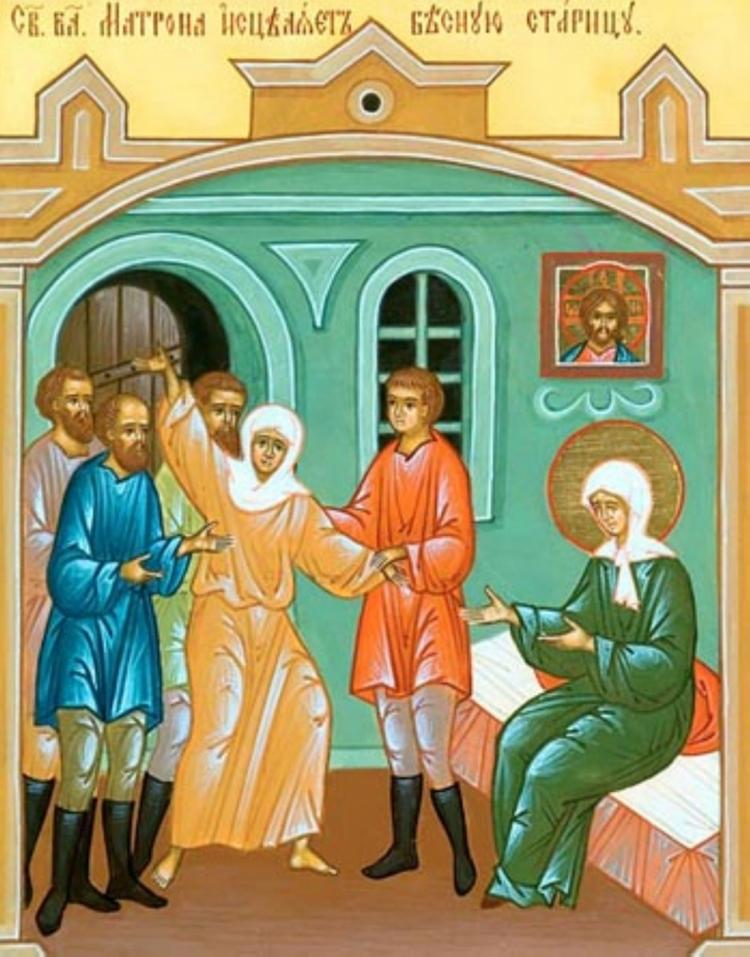 Сильные молитвы Матроне Московской