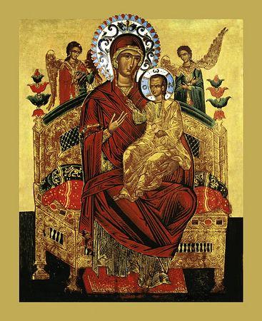 Молитва Пресвятой Богородице перед иконой Всецарица
