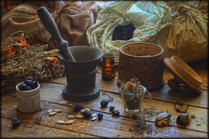 Деревенская магия заговоры шепотки и заклинания